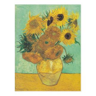 Still Life: Sunflowers - Vincent van Gogh Postcard
