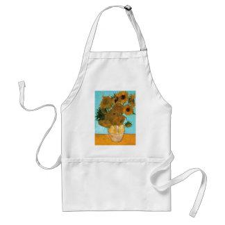 Still Life: Sunflowers - Vincent van Gogh Standard Apron