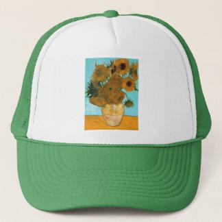 Still Life: Sunflowers - Vincent van Gogh Trucker Hat