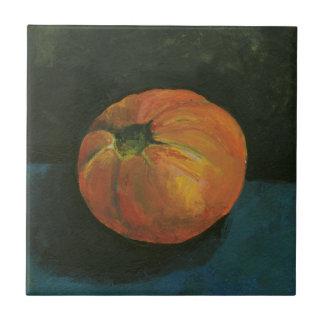 Still Life Tomato Tile