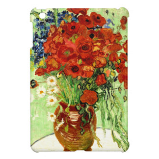 Still Life, Vase with Daisies and Poppies (1890) iPad Mini Case