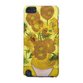 Still Life - Vase with Fifteen Sunflowers van gogh iPod Touch (5th Generation) Cases