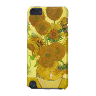 Still Life - Vase with Fifteen Sunflowers van gogh iPod Touch 5G Case