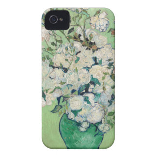 Still Life: Vase with Roses - Vincent Van Gogh iPhone 4 Case-Mate Case