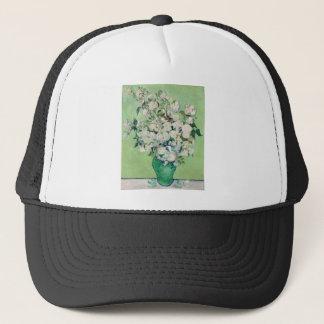 Still Life: Vase with Roses - Vincent Van Gogh Trucker Hat