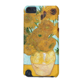Still Life - Vase with Twelve Sunflowers van Gogh iPod Touch (5th Generation) Covers
