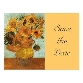 Still life - Vase with twelve Sunflowers, Vincent Post Cards