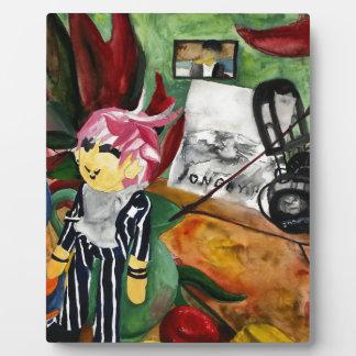 Still Life Watercolor 2016 Plaque