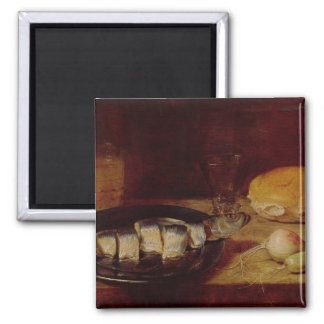 Still Life with a Herring Square Magnet