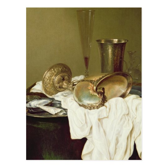 Still Life with a Nautilus Cup Postcard