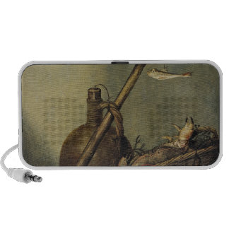 Still Life with a Pitcher and Crustaceans Portable Speaker