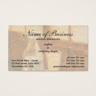 Still Life with Absinthe by Vincent van Gogh Business Card