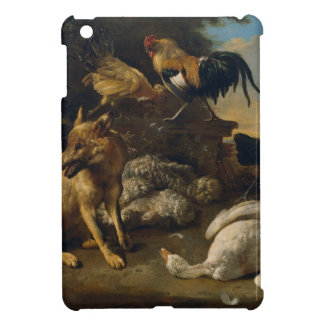 Still life with animals by Melchior d'Hondecoeter Case For The iPad Mini