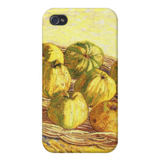 Still life with apple basket by Vincent van Gogh iPhone 4/4S Cover