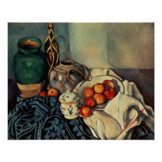 Still Life with Apples, 1893-94 Poster