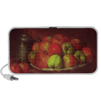 Still Life with Apples and a Pomegranate Laptop Speaker