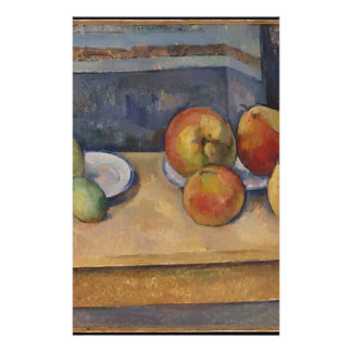 Still Life with Apples and Pears Custom Stationery