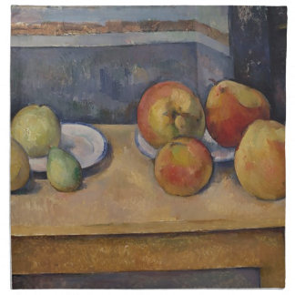 Still Life with Apples and Pears Napkin
