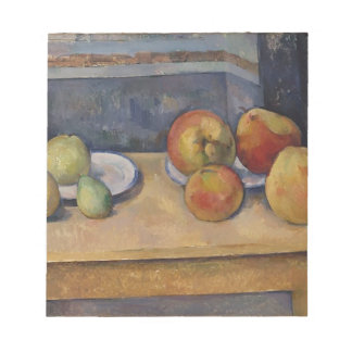Still Life with Apples and Pears Notepad
