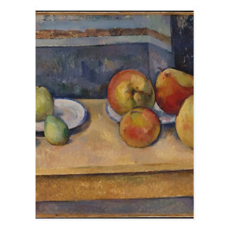 Still Life with Apples and Pears Postcard