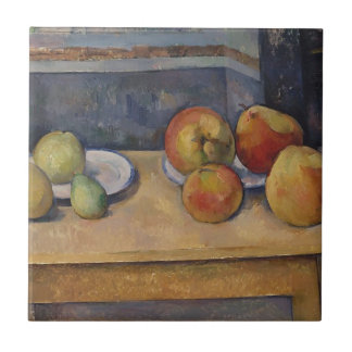 Still Life with Apples and Pears Tile