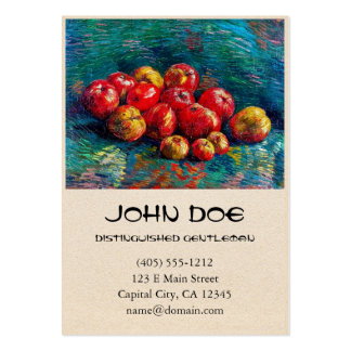 Still Life with Apples by Vincent Van Gogh Business Cards