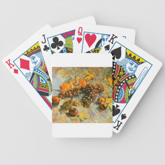 Still Life with Apples, Pears, Grapes - Van Gogh Bicycle Playing Cards