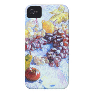 Still Life with Apples, Pears, Grapes - Van Gogh Case-Mate iPhone 4 Case