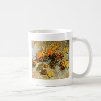 Still Life with Apples, Pears, Grapes - Van Gogh Coffee Mug