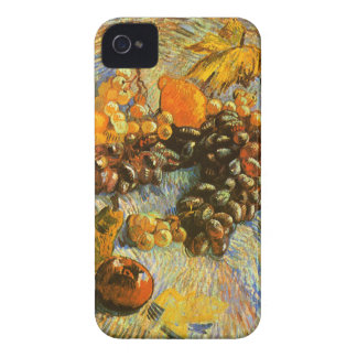Still Life with Apples, Pears, Grapes - Van Gogh iPhone 4 Case-Mate Cases