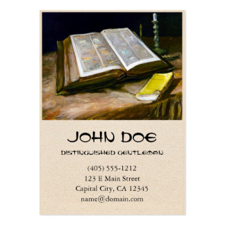 Still Life with Bible by Vincent Van Gogh Pack Of Chubby Business Cards