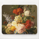 Still Life with Flowers and Fruit, 1827 Mouse Pad