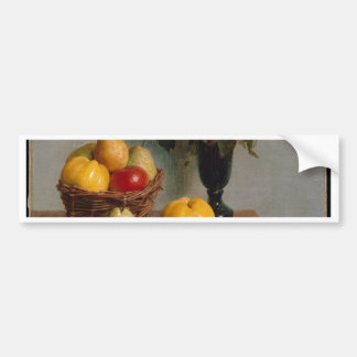Still Life with Flowers and Fruit Bumper Sticker