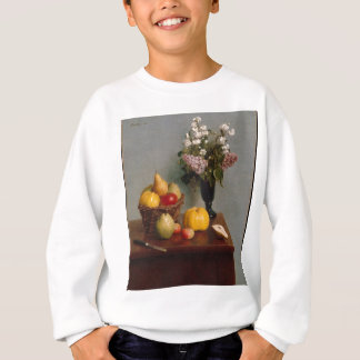 Still Life with Flowers and Fruit Sweatshirt