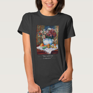 Still Life with Flowers and Prickly Pears Renoir Tshirts