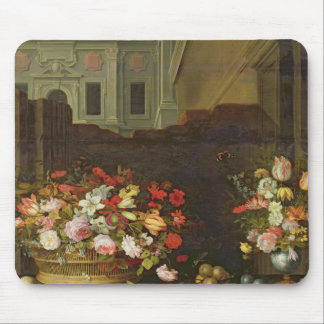Still Life with Flowers, Fruits and Shells Mouse Pad