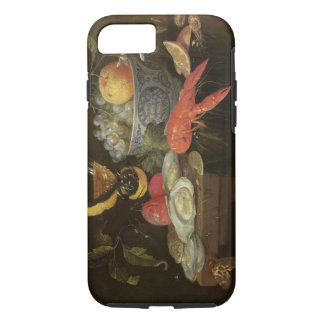 Still Life with Fruit and Shell Fish, 1653 (oil on iPhone 7 Case