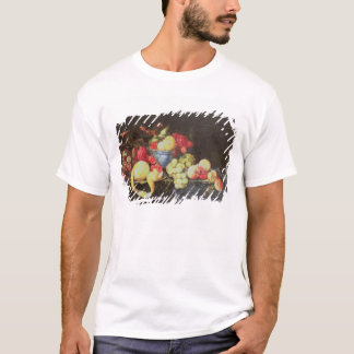 Still Life with Fruit in Delft Bowl, Including a P T-Shirt