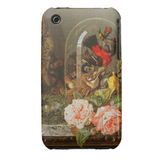 Still Life with Humming Bird in a Glass Dome iPhone 3 Cover