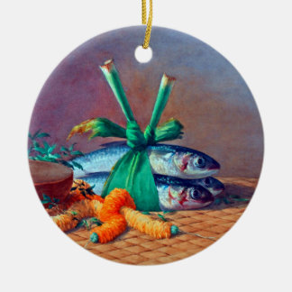Still Life with Ilima Lei, Calabash and Moi Ceramic Ornament
