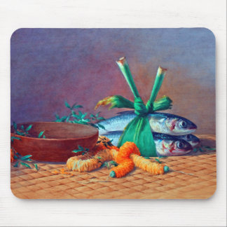 Still Life with Ilima Lei, Calabash and Moi Mouse Pad