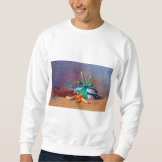Still Life with Ilima Lei, Calabash and Moi Sweatshirt