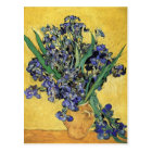 Still Life with Iris by Vincent Van Gogh Postcard