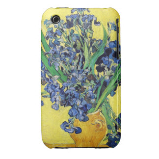 Still Life with Irises Vincent van Gogh iPhone 3 Covers