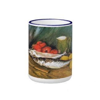 Still Life with Mackerels, Lemons and Tomatoes Mug