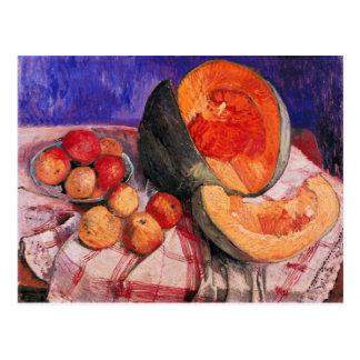 Still life with melon by Paula Modersohn-Becker Postcard