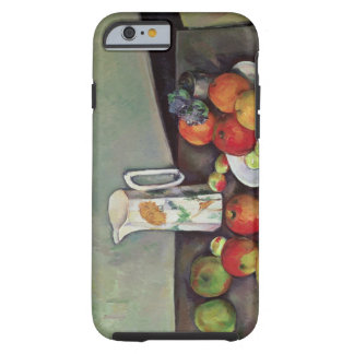 Still life with milk jug and fruit, c.1886-90 (oil tough iPhone 6 case