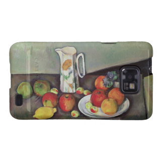 Still life with milk jug and fruit, c.1886-90 (oil galaxy s2 case