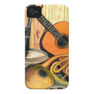 Still Life with Musical Instruments iPhone 4 Cover