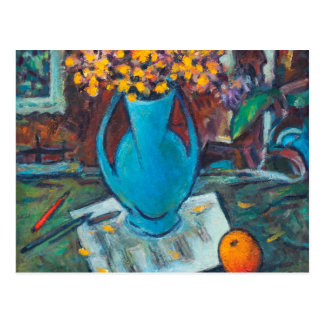 Still Life with Musical Notes Postcard